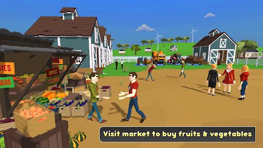 Virtual Farm Life Simulator  Family House Games Apk Download 4