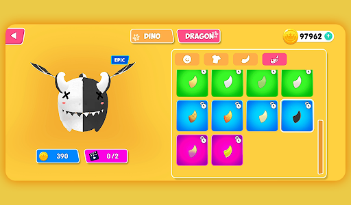 Fall.io - Race of Dino apkslow screenshots 22