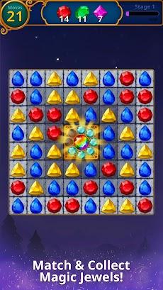 Jewels Magic: Mystery Match 3のおすすめ画像4