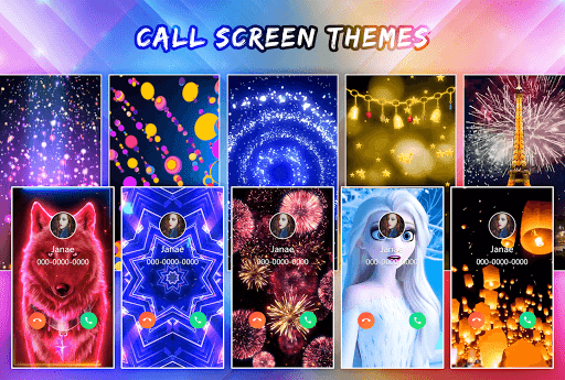 Color Call Flash- Call Screen, Color Phone Flash 4.6 Screenshots 1