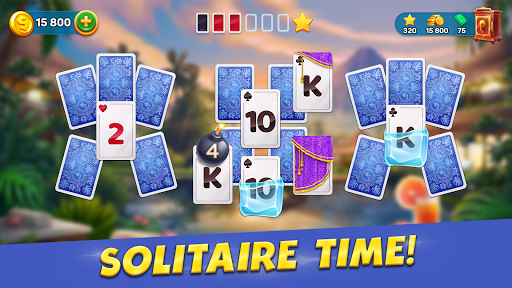 Solitaire Cruise: Classic Tripeaks Cards Games  screenshots 3