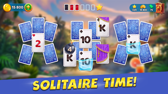 Solitaire Cruise: Classic Tripeaks Cards Games 2.5.4 3