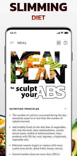 Foto do Weight loss app - home workout and meal plan