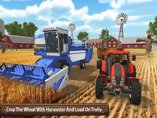 Organic Tractor Farming SIM: Mega Harvesting 3.0.3 screenshots 10