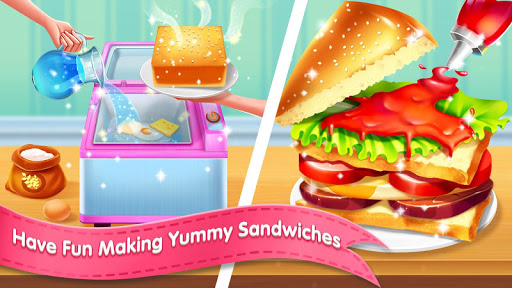 🥪🥪My Cooking Story - Deli Sandwich Master apkmartins screenshots 1