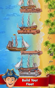 Pocket Ships Tap Tycoon Mod Apk: Idle Seaport (Unlimited Money) 9