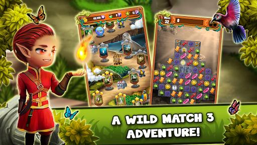 Match 3 Jungle Treasure – Forgotten Jewels https screenshots 1