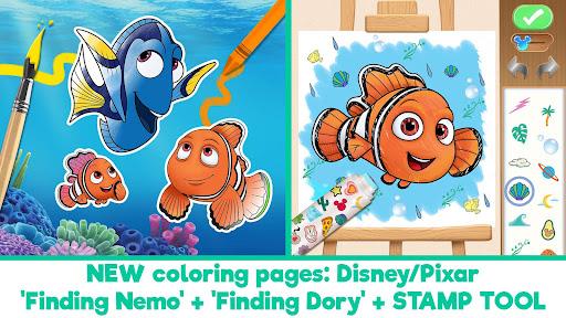 Disney Coloring World - Drawing Games for Kids 8.2.0 screenshots 1