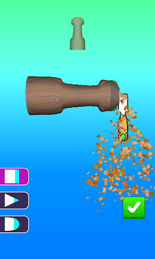 Télécharger Gratuit Wood Turning Game | Stress Busting Lathes Vertical apk mod screenshots 2