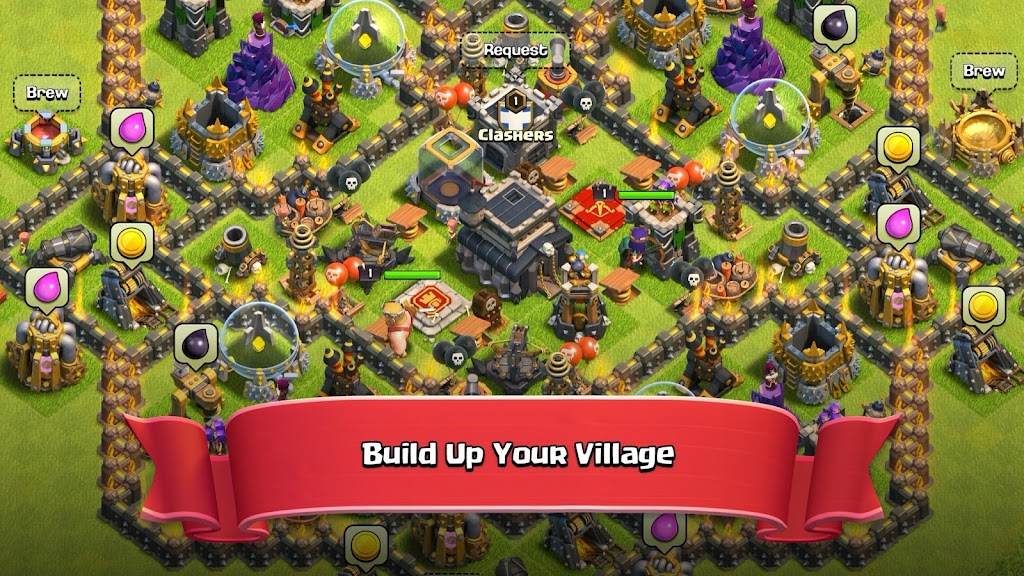 Clash of Clans  poster 2