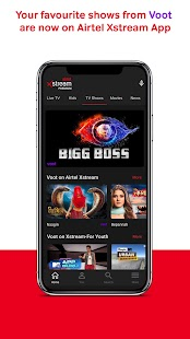 Airtel Xstream App: Movies, LiveTV, TV Shows Screenshot