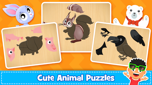 Animal Puzzle for kids - Preschool Learning Games  screenshots 5