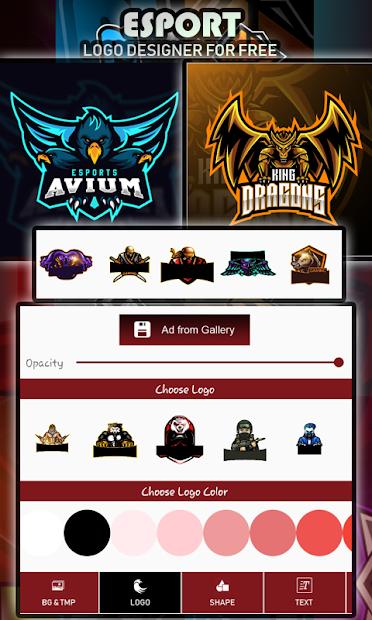 Logo Esport Maker | Create Gaming Logo Maker screenshot 23