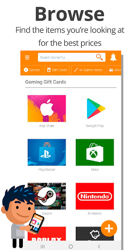 Gameflip: Buy & Sell Games, Game Items, Gift Cards 2.7 Screenshots 2
