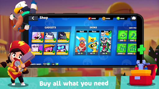 Box Simulator for Brawl Stars: Cool Boxes! 10.4 Screenshots 7