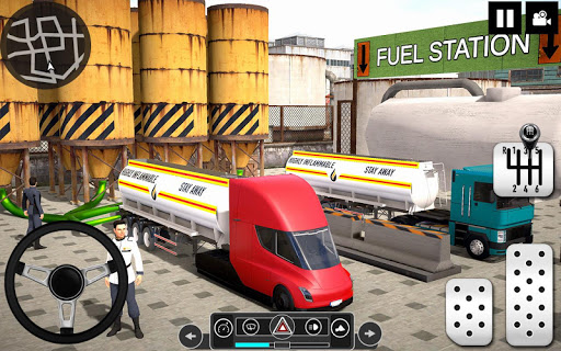 Oil Tanker Truck Driver 3D - Free Truck Games 2020 android2mod screenshots 5