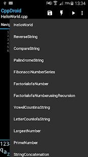 CppDroid - C/C++ IDE 3.3.3 Screenshots 5