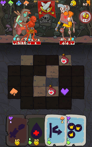 Dungeon Faster - Card Strategy Game 1.127 screenshots 13