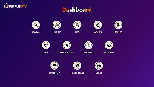 IPTV Smart Purple Player – No Ads 4.0 Download Mod Apk 1