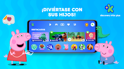 Discovery Kids Plus - dibujos android2mod screenshots 1