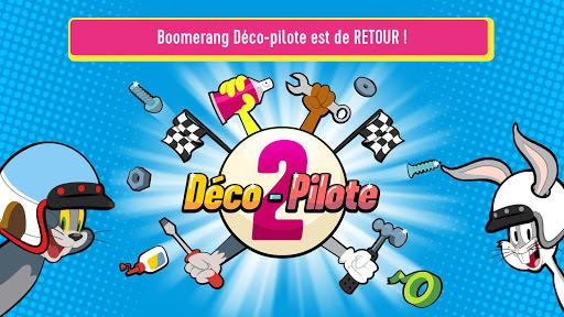Boomerang Déco-pilote2 - Jeu de course et cartoon APK MOD (Astuce) screenshots 1
