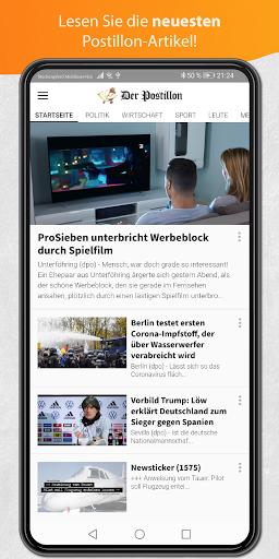 Der Postillon 3.0 screenshots 1