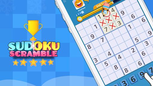 Sudoku Scramble - Head to Head Puzzle Game apkpoly screenshots 15