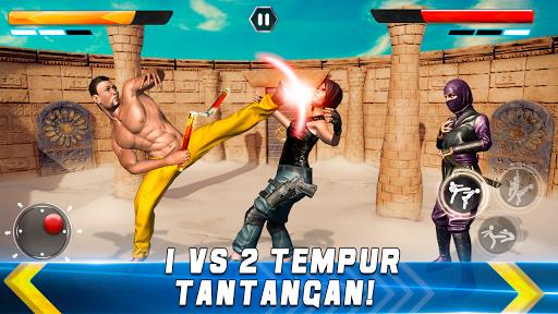 Code Triche kung fu karaté box jeux de bagarre: jeux de combat apk mod screenshots 4