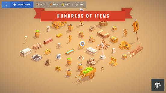 Pocket Build - Unlimited open-world building game Mod Apk