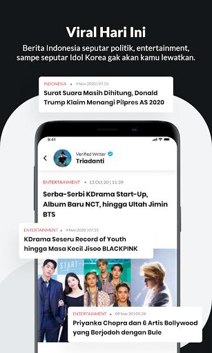 IDN App - Aplikasi Baca Berita Terlengkap 6.10.0 Screenshots 6