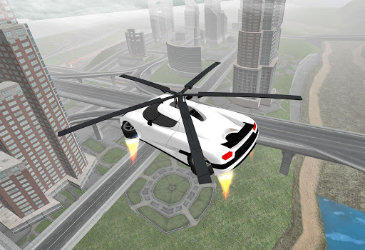 Flying Car Rescue Flight Sim 3.1 screenshots 1