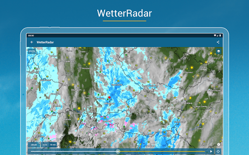 RegenRadar - Vorhersagen & live Wetterradar  screenshots 11