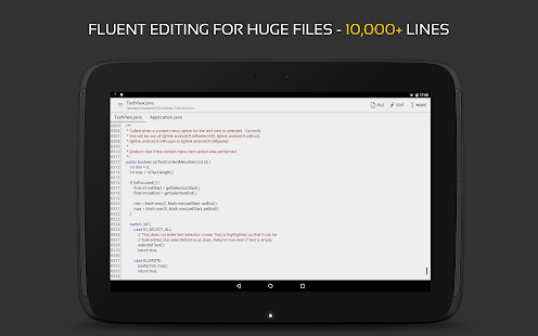 QuickEdit Text Editor Screenshot