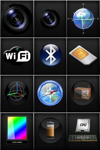 z - device test (ad free) screenshot 1