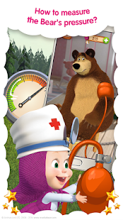 Masha and the Bear: Free Animal Games for Kids