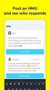 LMK: Q&A and Make Friends Screenshot