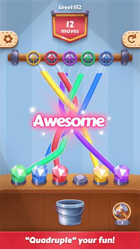 Tangle Fun - Can you untie all knots? screenshots 7