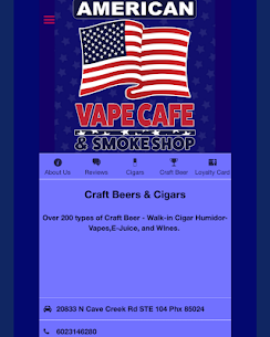 American Vape Cafe For Pc | How To Install (Windows 7, 8, 10 And Mac) 3