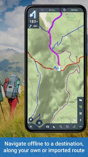Locus Map 4: Hiking&Biking GPS navigation and Maps apktram screenshots 3