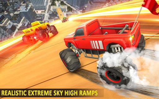 Ramp Monster Truck Stunts:New Racing Games 2.1 screenshots 2