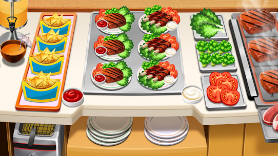 Cooking Games – Food Fever & Restaurant Craze 1.13 Mod Apk [Newest Version] 1