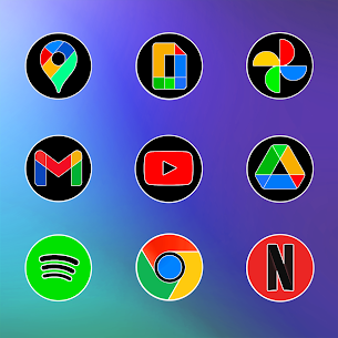 MIUl 12 Circle Fluo Icon Pack v2.1.6 [Patched] 4