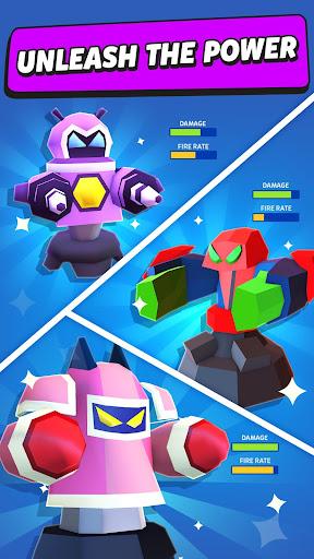 Merge Tower Bots apkslow screenshots 4