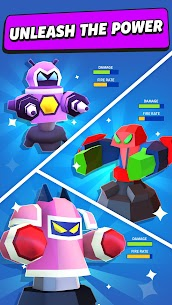 Merge Tower Bots Mod Apk (Unlimited Money) 4