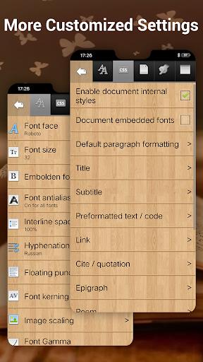 EBook Reader & Free ePub Books android2mod screenshots 8