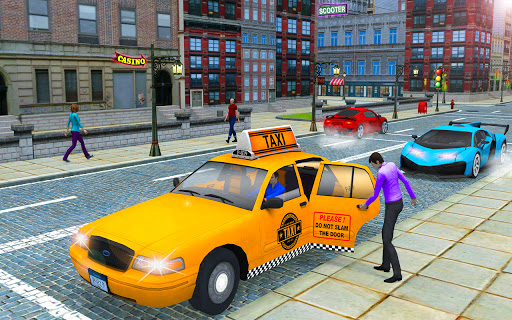 New Taxi Driving Games 2020 u2013 Real Taxi Driver 3d  screenshots 11