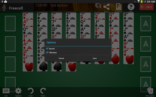 Freecell apkpoly screenshots 15