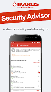 IKARUS mobile.security Screenshot