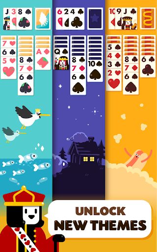 Solitaire: Decked Out - Classic Klondike Card Game screenshots 6