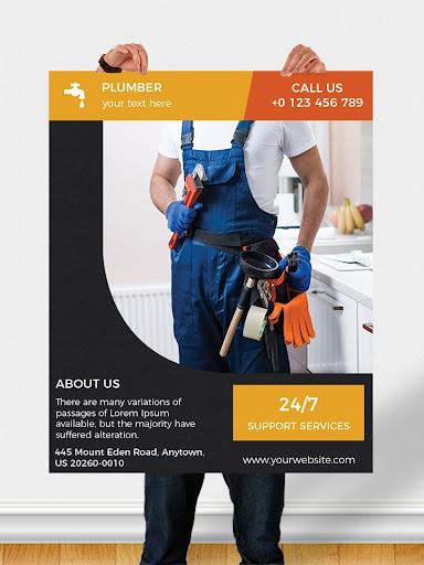 Flyers, Poster Maker, Graphic Design, Banner Maker 51.0 Screenshots 14